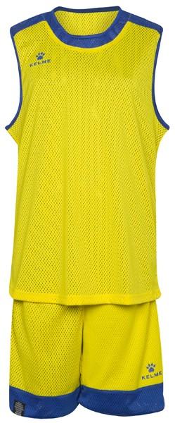 equipacion baloncesto reversible kelme