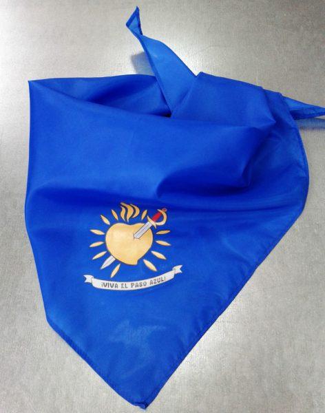 Pañuelo paso azul Lorca