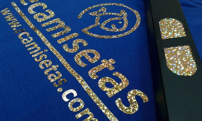 Camiseta oro