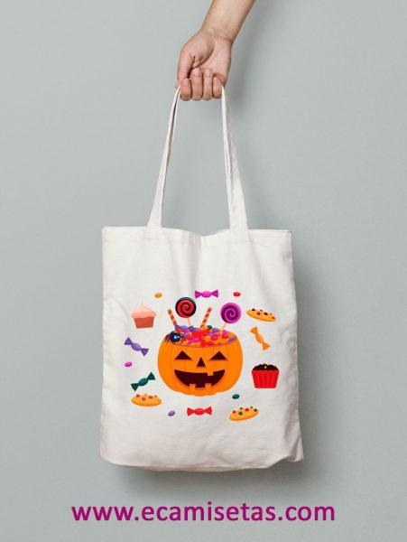 bolsa caramelos halloween