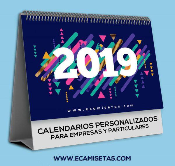 Calendario mesa personalizado
