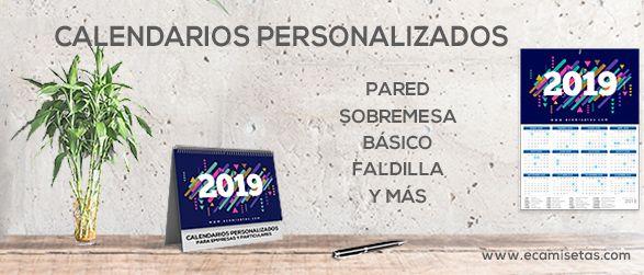 Calendarios para empresas personalizados