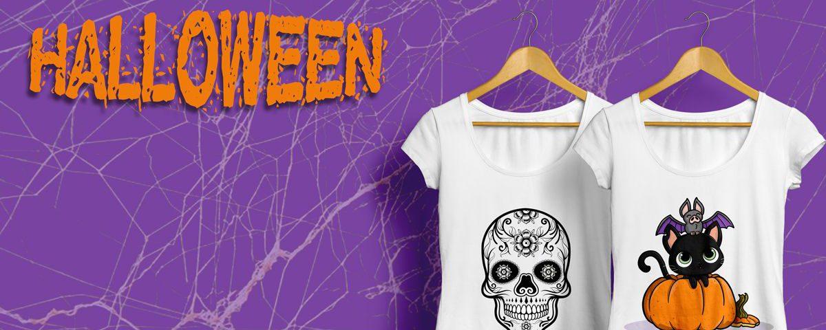 Camisetas para halloween personalizadas