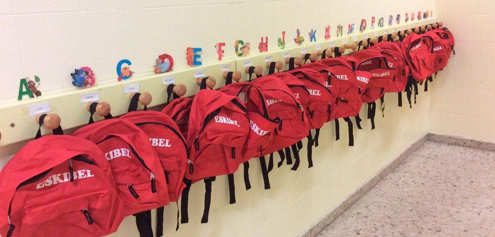 Mochilas escolares personalizadas