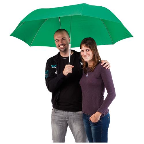 Paraguas para parejas