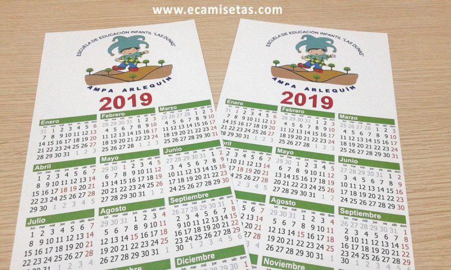 Calendarios baratos