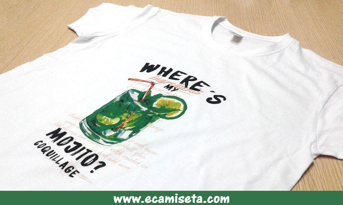 Camisetas personalizadas publicitarias