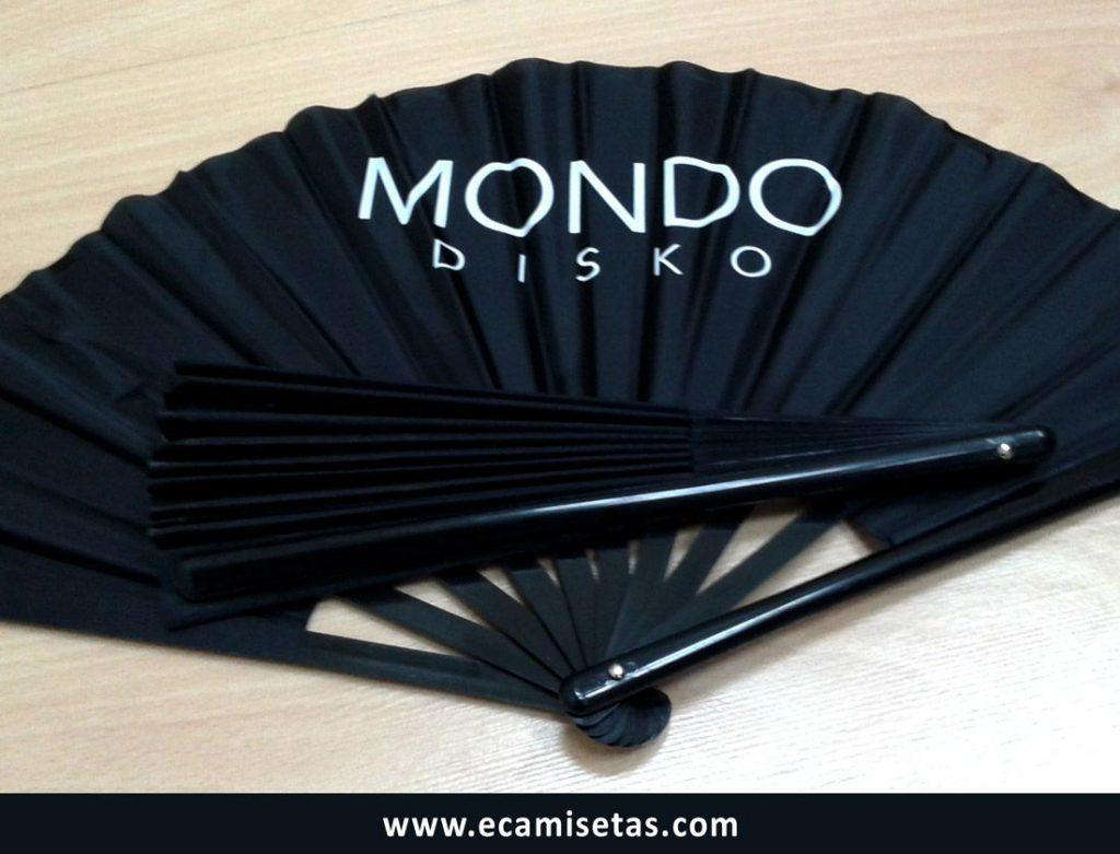 Mondo disko abanicos