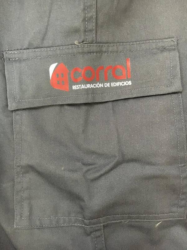 pantalones laborales personalizados