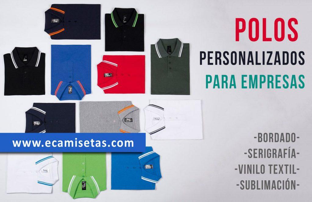 Polos personalizados para empresa