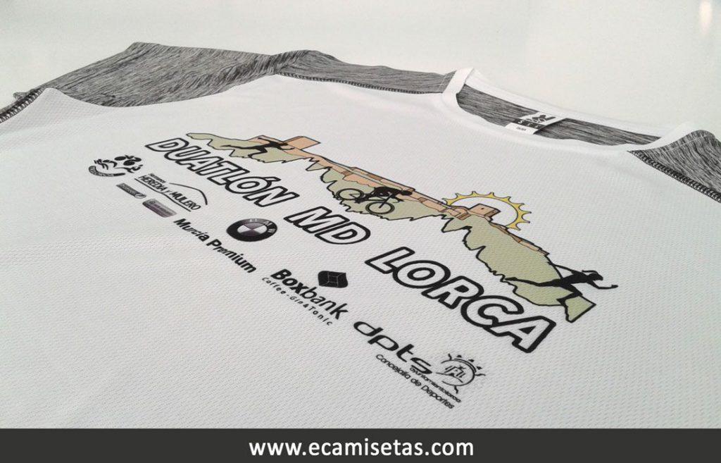 Camisetas duatlón lorca