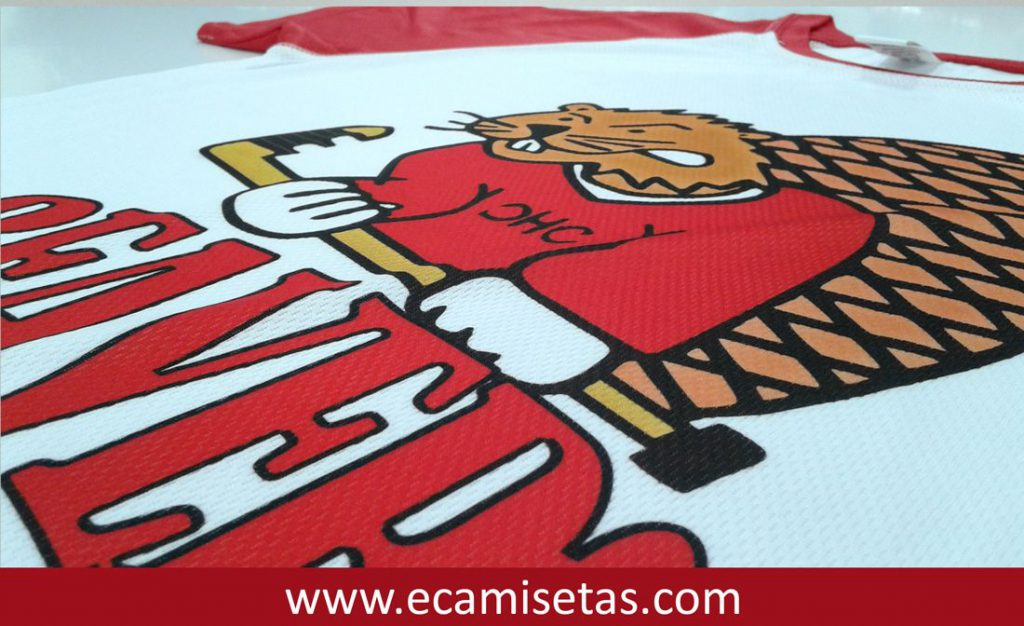 Camisetas beavers personalizadas