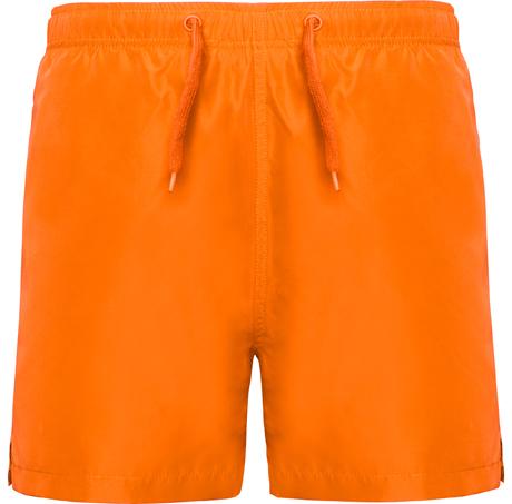 Bañador naranja personalizado