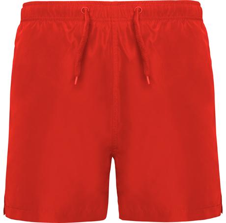 Bañador rojo personalizado