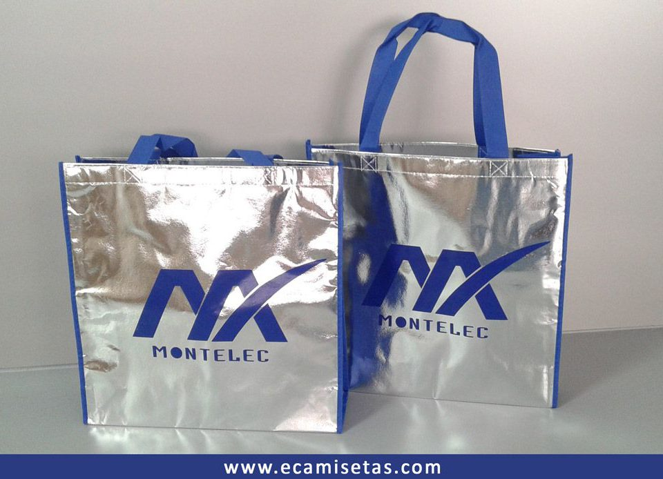 Bolsas metalizadas personalizadas