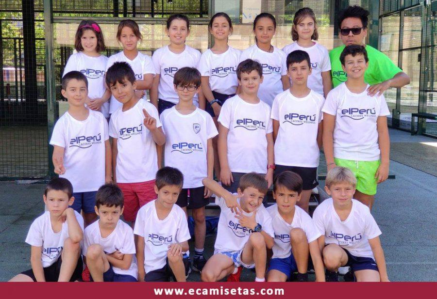 camisetas deportivas infantiles