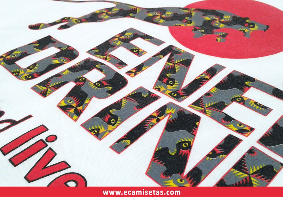 camisetas serigrafiadas baratas