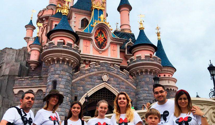 Camisetas disney familia