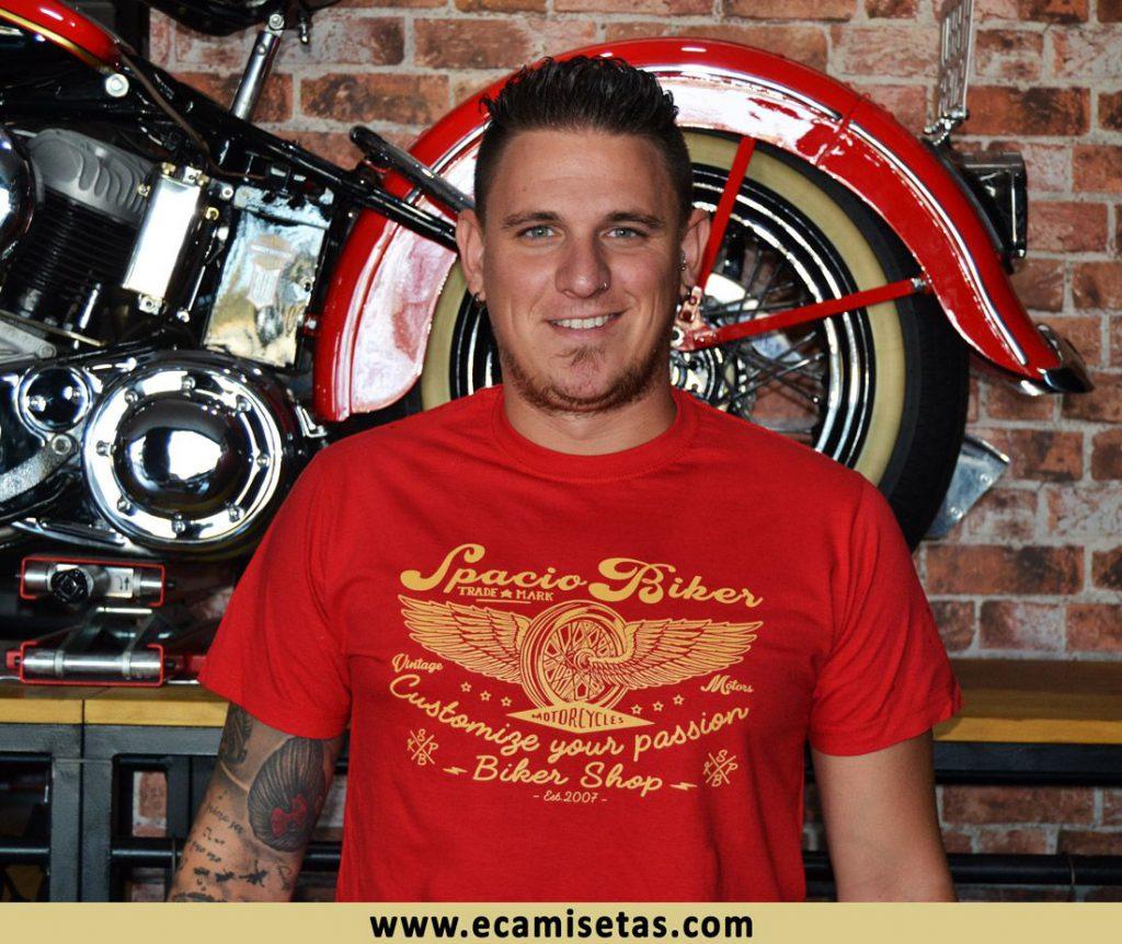 Spaciobiker camisetas