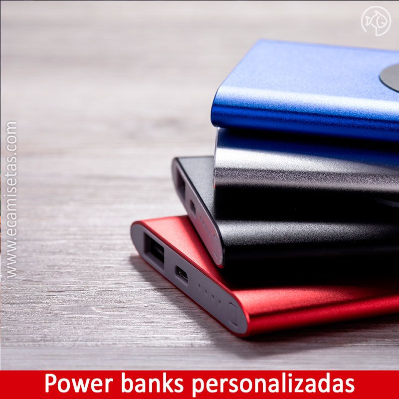 power banks personalizadas