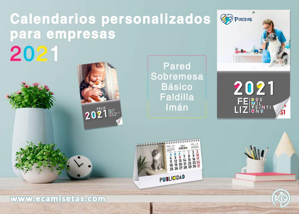 calendarios para empresas personalizados 2021