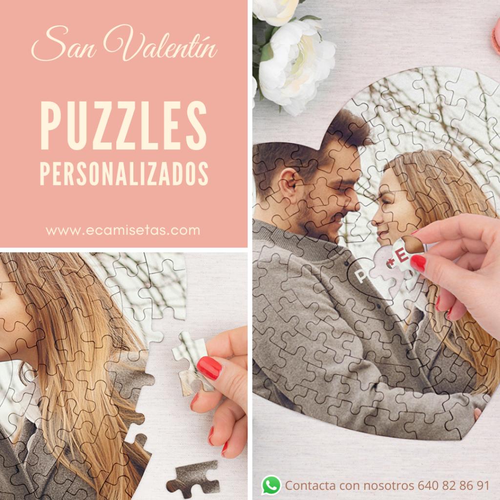 Puzzles personalizados san valentin