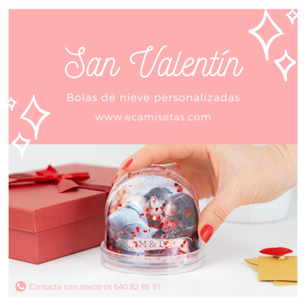 bolas de nieve corazon - san valentin