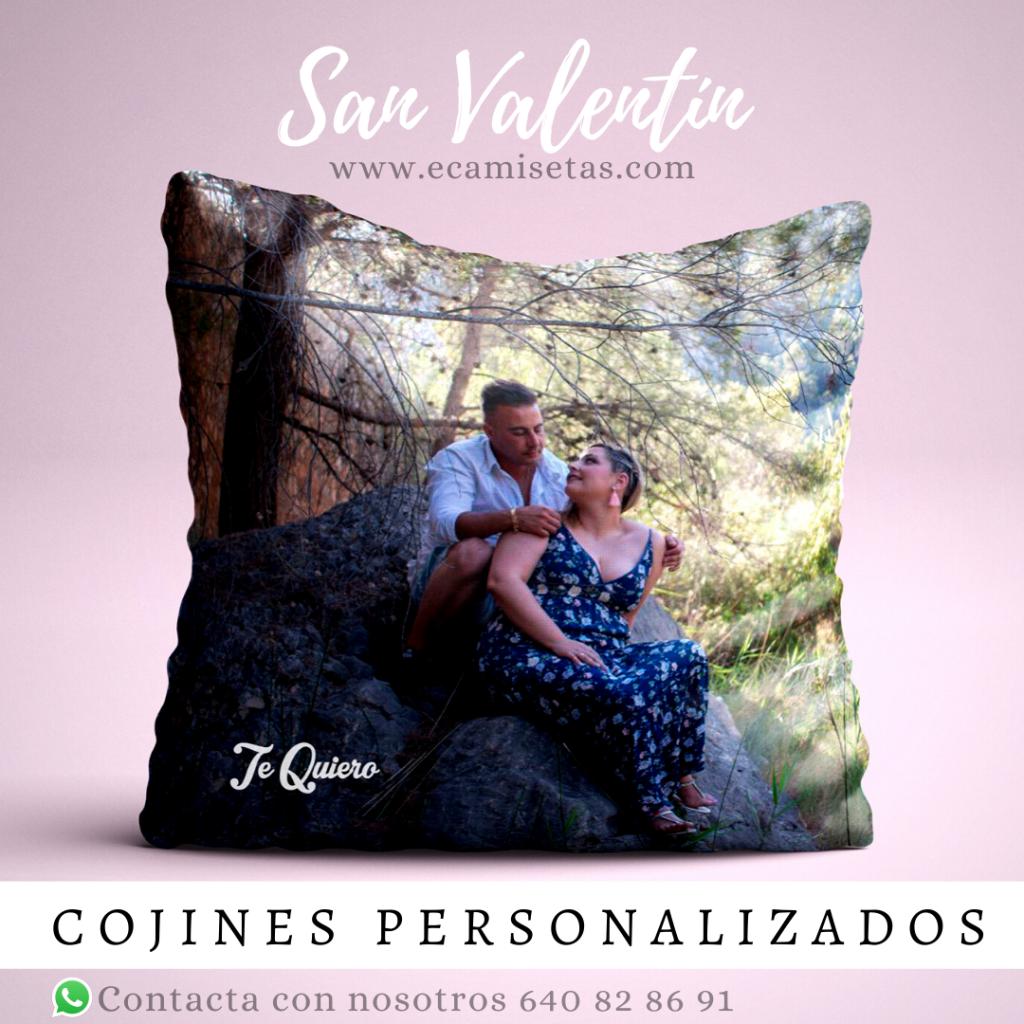 cojines personalizados san valentin