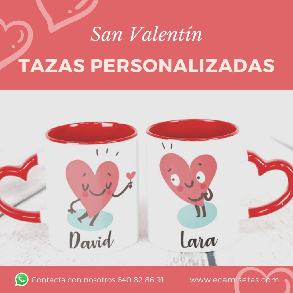 tazas corazon san valentin