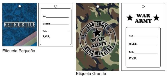 Etiquetas Personalizadas en Cartón