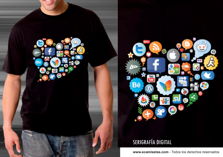 3ce0fc18c Serigrafía Digital - Serigrafía Camisetas - Impresión Textil