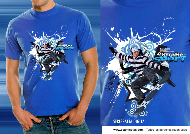 e86362a2d3d46 Serigrafía Digital - Serigrafía Camisetas - Impresión Textil