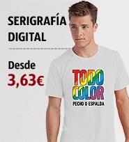 claro y distintivo el más baratas super calidad Camisetas Personalizadas - Camisetas Baratas Serigrafiadas ...