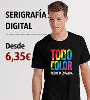 Camiseta personalizada color